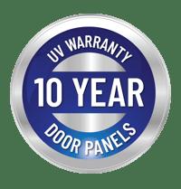 10yr warranty badge door panels