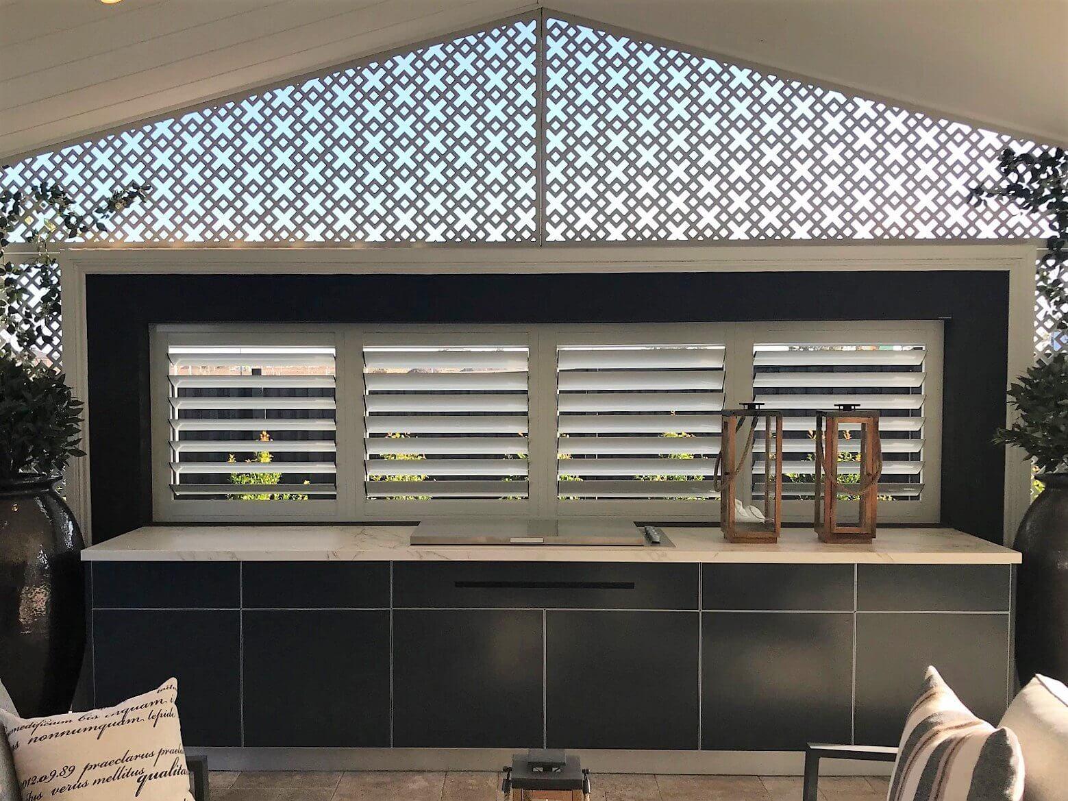 Beefeater Proline Lid Dekton Entzo Matte Steel grey Alfresco Kitchen Henley Homes Wollert 1