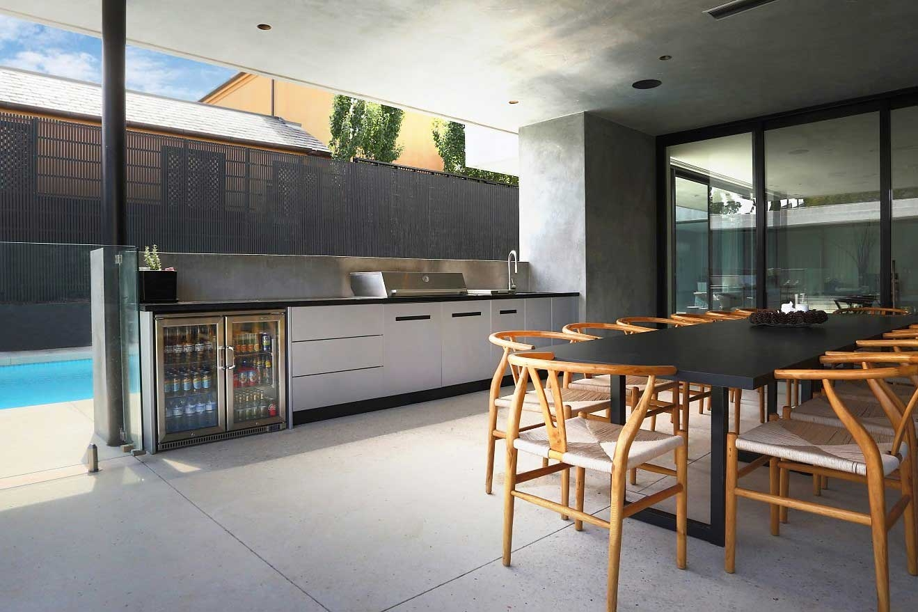 Beefeater-Proline-Hood-BBQ-Metallic-Silver-Corian-Deep-Night-Sky-Alfresco-Kitchen