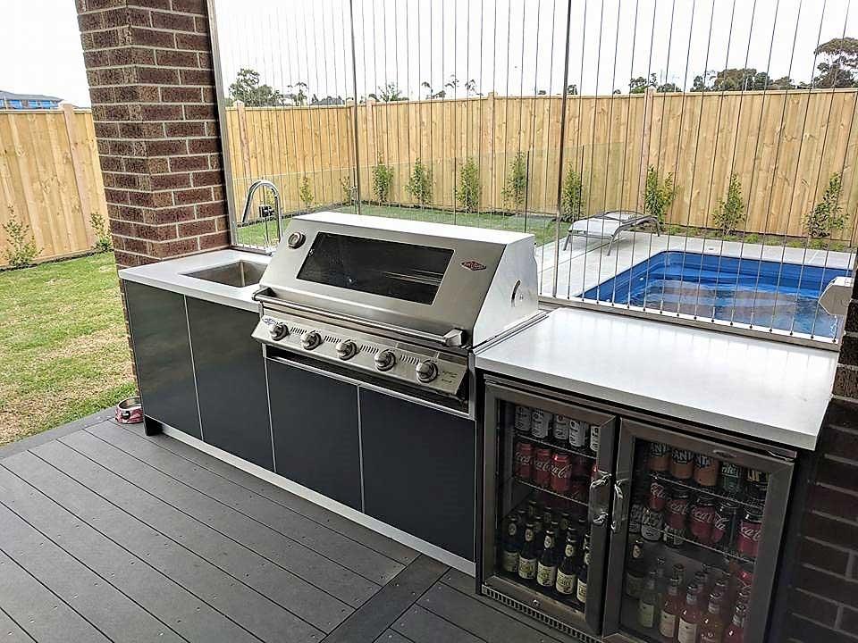 Beefeater-Signature-3000S-Steel-Grey-Corian-Everest-Outdoor-Kitchen