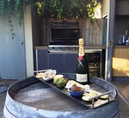 Courtyard Outdoor Kitchen Prahran Melbourne