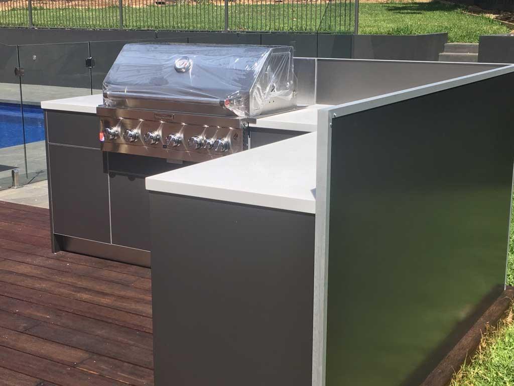 KitchenAid-6-Burner-BBQ-Metallic-Charcoal-Corian-Antarctica-Benchtops-Outdoor-Kitchen