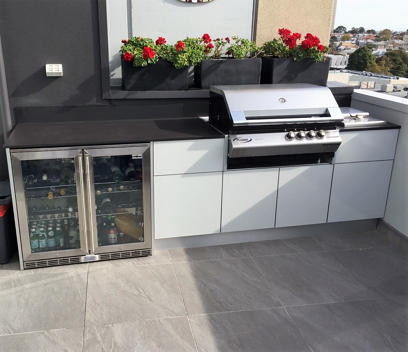 South Melbourne Rooftop Outdoor Kitchen